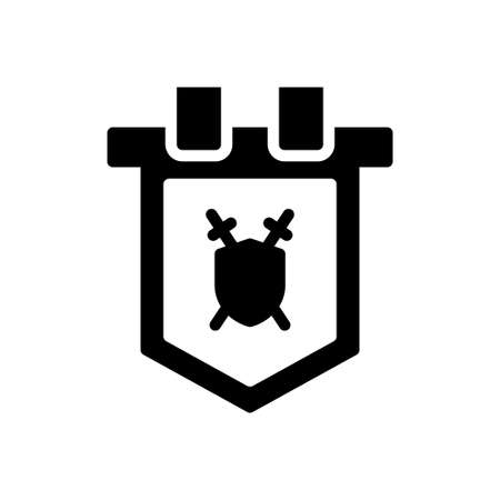 viking vector glyph flat icon