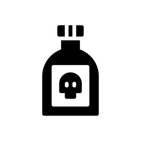 potion vector glyph flat icon