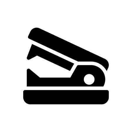 stapler vector glyph flat icon