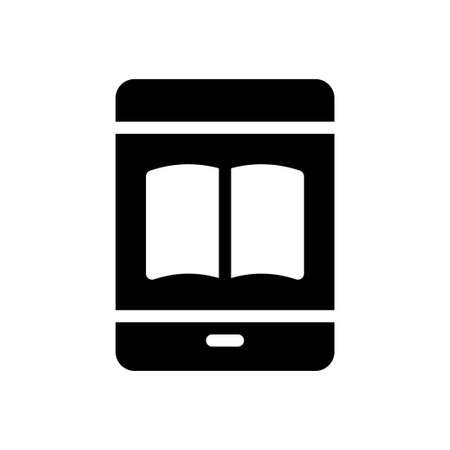 mobile vector glyph flat icon