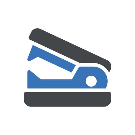 stapler vector glyph colour icon