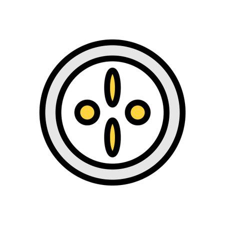 fertility vector line colour icon