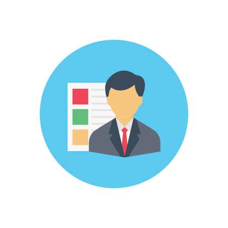 hiring vector colour flat icon