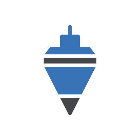 pendulum vector glyph colour icon