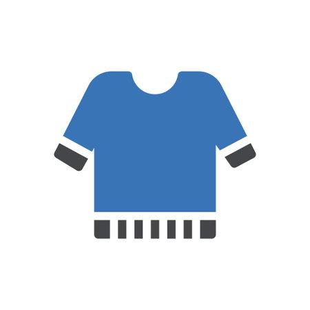 shirt vector glyph colour icon