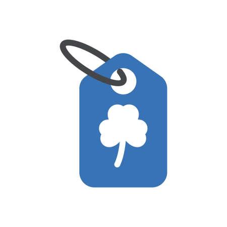 tag vector glyph color icon