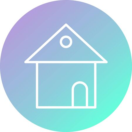 House Vector Icon White Background