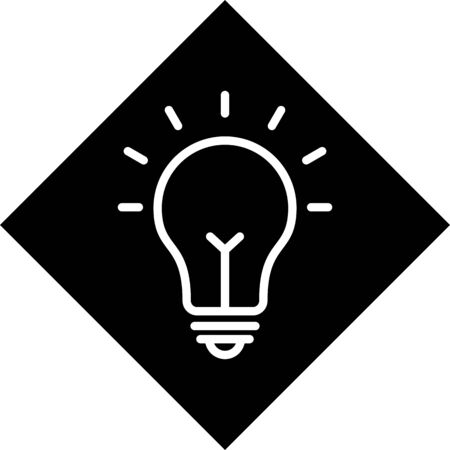 Bulb Vector Icon White Background