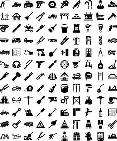 tongs: Formas de construcci�n Vectores
