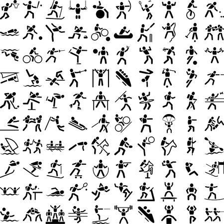 図形のスポーツ  イラスト・ベクター素材