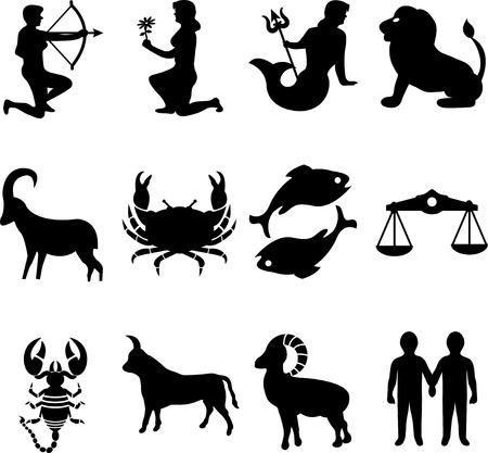 gemini zodiac: Shapes Zodiac signs