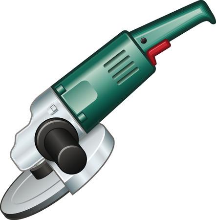 angle grinder: Angle grinder