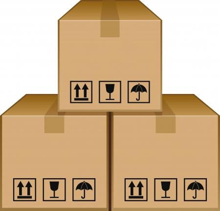 Brown Cartons