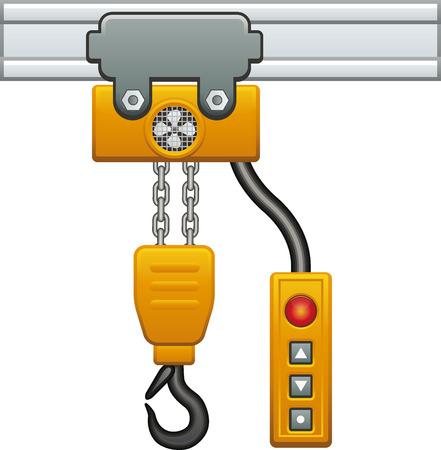 hoist: Chain hoist
