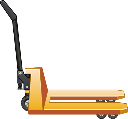 Pallet truck Illustration