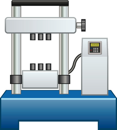 Machine for tensile tests
