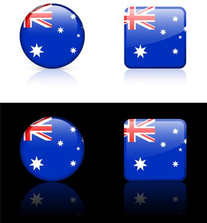 World flag series: Australia Illusztráció