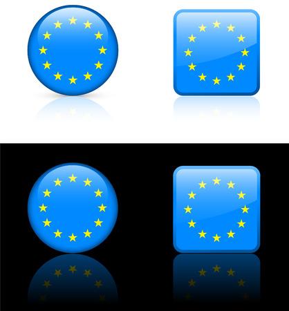 World flag series: European Union Illusztráció