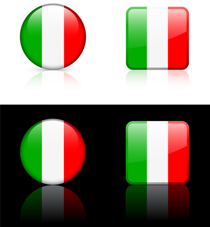 World flag series: Italy Illusztráció