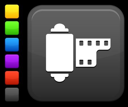 digitally generated image: Original icon. Six color options included. Stock Photo