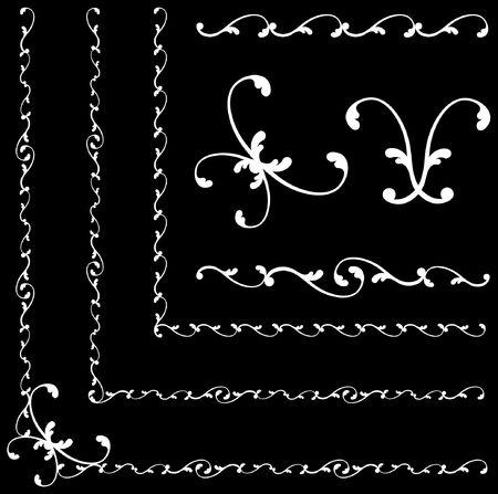 黒と白の抽象的な背景元図黒と白デザイン パターンに最適抽象的な背景