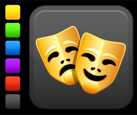 Original icon. Six color options included. Stock Photo - 6426228