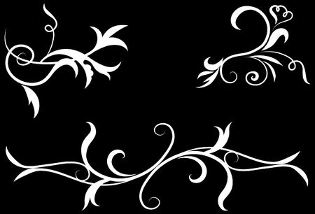 Abstract Black and White Design Pattern  Original Vector Illustration Black and White Design Pattern Ideal for Abstract Background  Reklamní fotografie