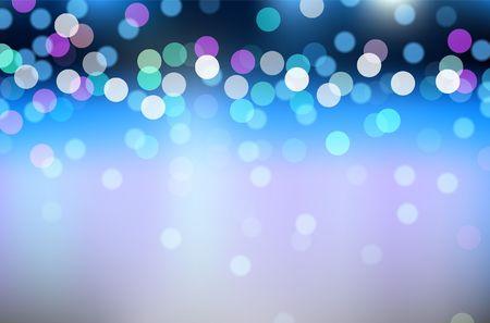 Blue Lens Flare Background Original Vector Illustration Reklamní fotografie