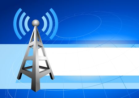 communication: Modern radio communication internet background