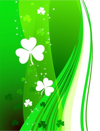 St. Patricks Day card background photo