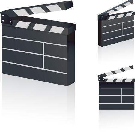 Film Clapper Original Vector Illustration