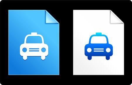 Taxi on Paper Set Original Vector Illustration AI 8 Compatible File  illustration