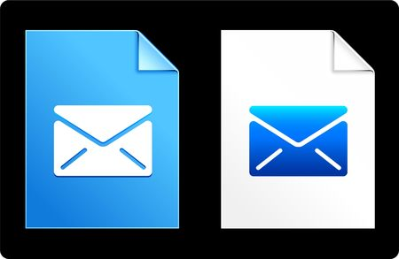 Mail on Paper set Original Vector Illustration AI 8 Compatible File  illustration