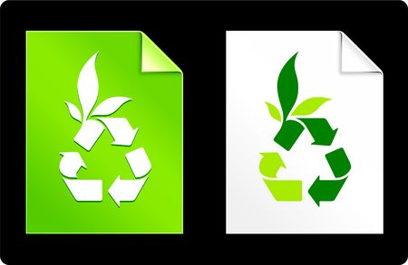 Recycle on Paper Set