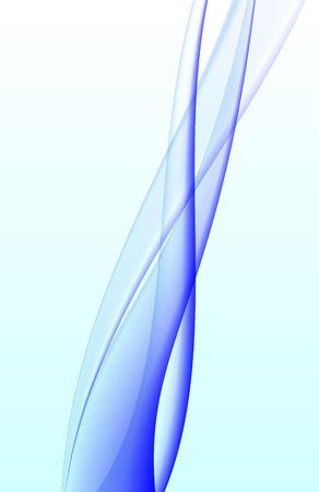 Abstract Wave Background Original Illustration