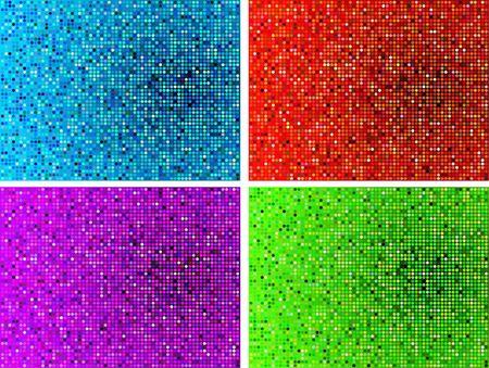 mosaic tile: Illustrazione originale: Semplice mosaico tile pattern internet sfondo AI8 compatibile