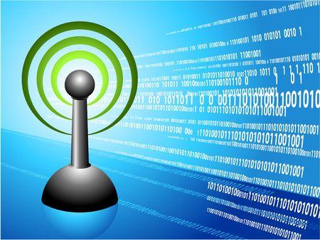 Wireless internet modern Background Original Illustration Ideal for internet concepts   illustration