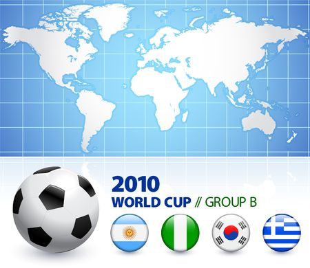 2010 월드컵 B 조 B 조 원본 그림