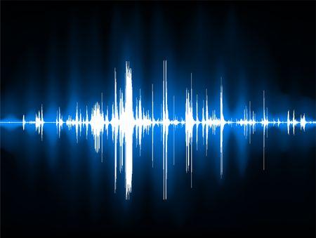 pulse: Pulse Wave Background Original Illustration