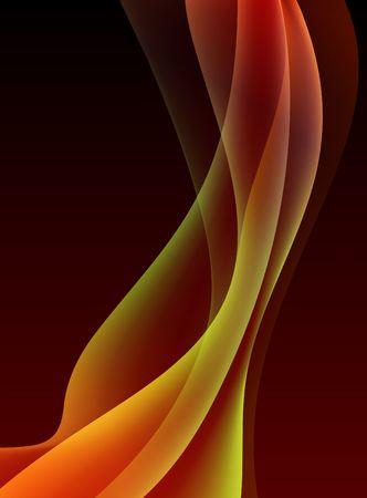 Abstract Wave Internet Background Original  Illustration
