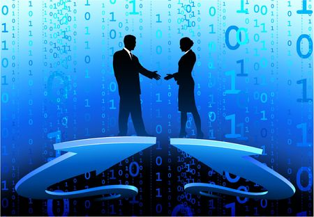 compatible: Original  Illustration: Business greeting AI8 compatible