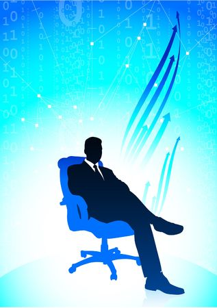 Executive businessman Set Original  Illustration Businessmen Concept Stock Illustration - 6589555