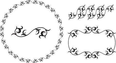 抽象的な黒と白の背景 オリジナルイラスト 抽象的な背景に最適な白黒のデザインパターン