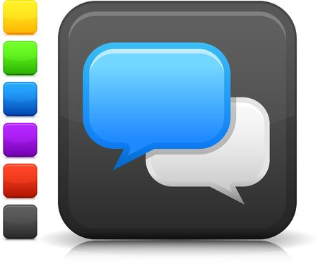 chat room: Original  icon. Six color options included.