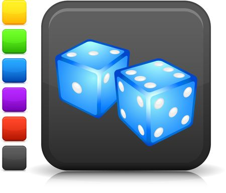 probability: Original  icon. Six color options included.