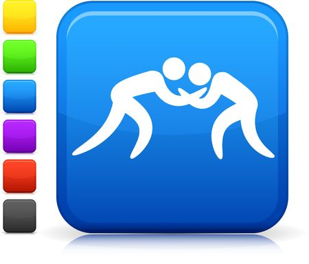 professional sport: Original icon. Six color options included. Stock Photo