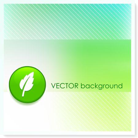 Leaf Icon Internet Button