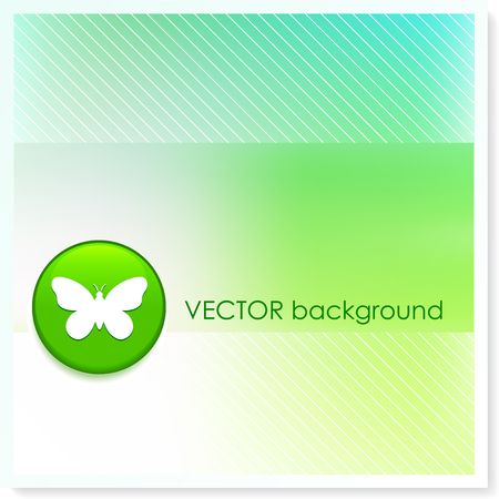 Butterfly Icon Internet Button