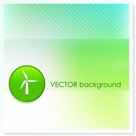 Wind Turbine Icon Internet Button