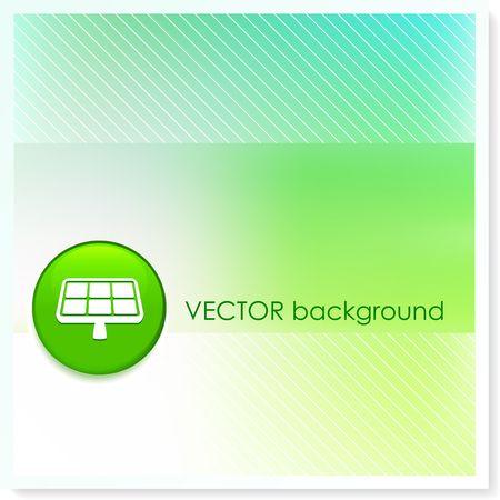 Solar Panel Icon Internet Button Stock fotó
